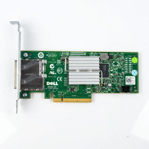 Dell PERC H200E 6Gb//s SAS PCIe HBA 2 Port Ext SFF-8088 12DNW = LSI 9200-8E