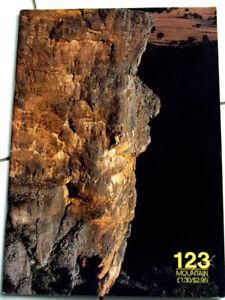 123 Mountain Magazine Escalade Alpes Alpinisme-afficher Le Titre D'origine