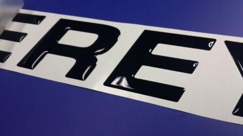 """MONTEREY boat Emblem 20/"""" black FREE FAST delivery DHL express"""