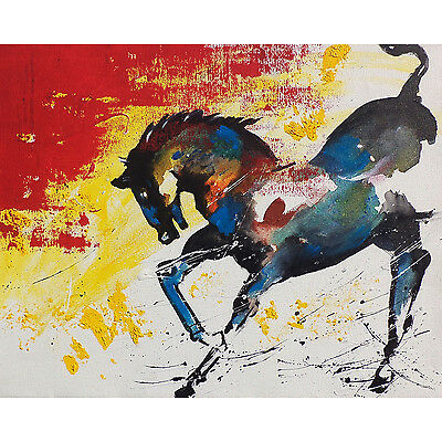 Artistic Horse MATT Framed Painting(Reprint) For Modern Home by Dreamzdecor