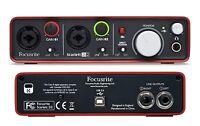 BRAND NEW Focusrite Scarlett 2i2 Gen 1 USB Audio Interface w/ Plug In Suite