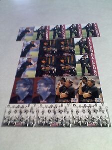 Jerry Glanville:  Lot of 95+ cards.....16 DIFFERENT / Football