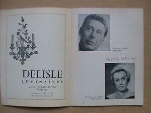 Claude-Winter-Michel-Aumont-autographe-original-Comedie-francaise