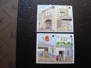 Gibraltar-Stamp-Yvert-Tellier-N-599-A-602-N-MNH-COL3