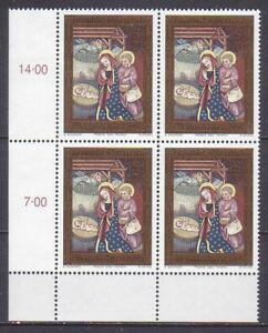 1998 , Weihnachten ( Mi.Nr.: 2271 ) 4-er Block postfrisch ** - Frohnleiten, Österreich - 1998 , Weihnachten ( Mi.Nr.: 2271 ) 4-er Block postfrisch ** - Frohnleiten, Österreich