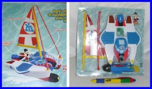 Raro-Playset-Catamaran-Scrooge-2011-Disney-Gadget-Mickey-Uncle-Scrooge-Raro