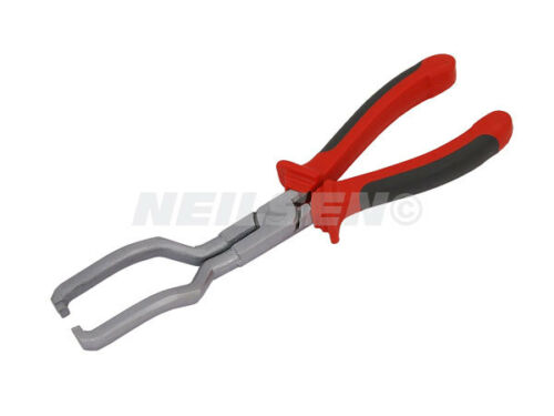 NEILSEN FUEL LINE DISCONNECT PLIERS IN LINE FILTER PIPES PETROL DIESEL