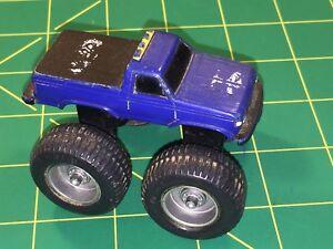 Bigfoot-Ford-Monster-Truck-Pickup-McDonalds-Vtg-80-039-s-Plastic-Toy-Blue-Land-Train