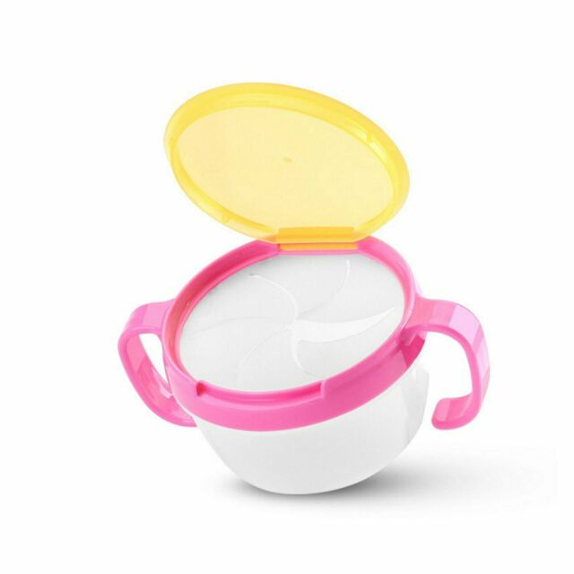 Gerber Active Snacker Baby Toddler No Spill Snack Bowl Cup Container BPA Free