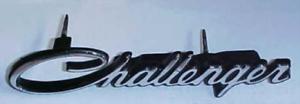 1972 1973 1974 Dodge  Challenger Grille Emblem VC113 3573505 YR1