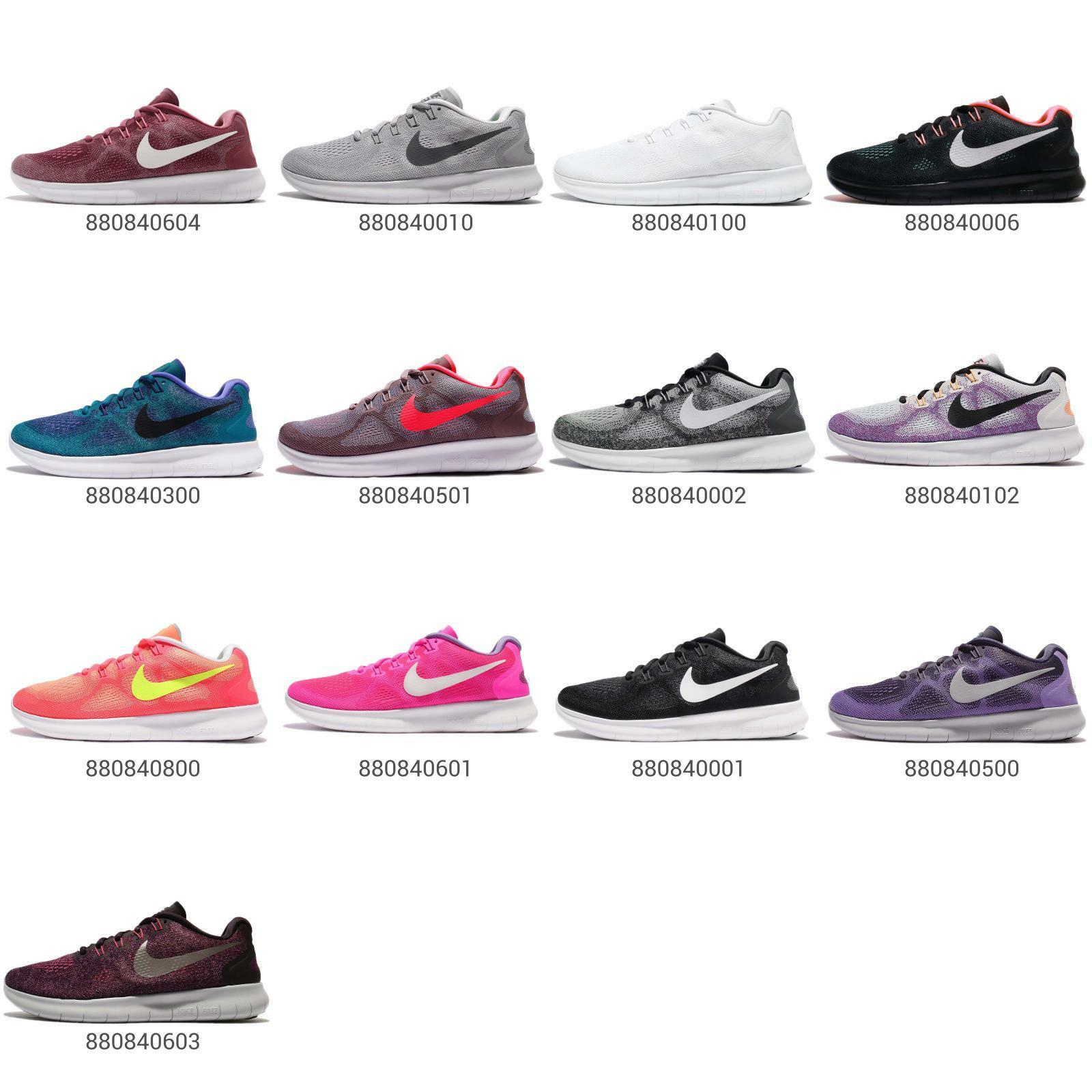 Nike Wmns Free RN 1 2017 Run Womens Running Shoes Sneakers Trainers Pick 1 RN 18c78e