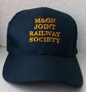 M-amp-GN-Baseball-Cap-with-Embroidered-Lettering