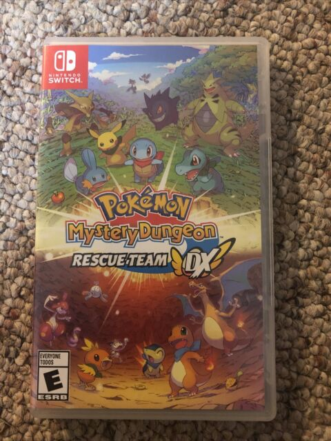 Pokémon Mystery Dungeon: Rescue Team DX -- Standard Edition (Nintendo Switch,...