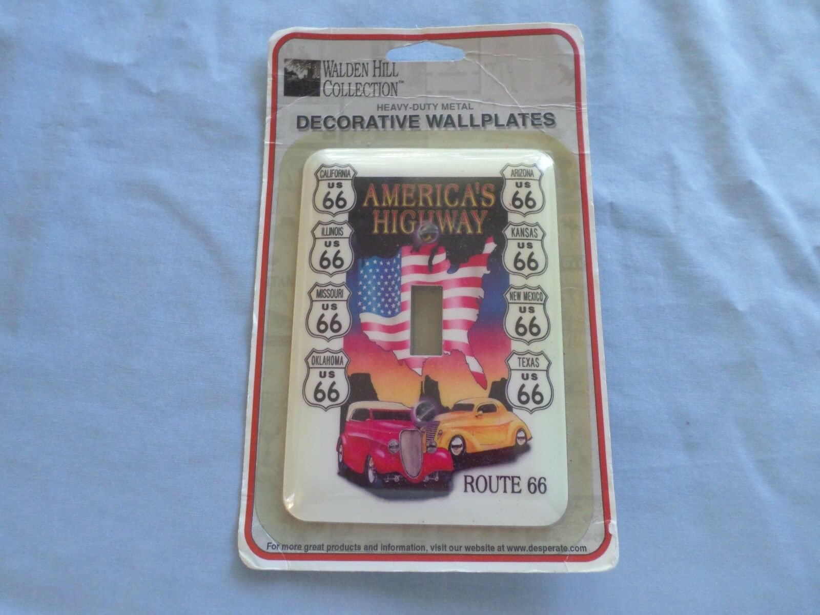 Walden Hill Collection Decorative Wallplate Light Switch Cover Route 66 New For Sale Online