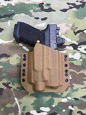 Coyote Tan Kydex Light Holster Glock 19/23/32 Streamlight TLR-4 Laser/Light