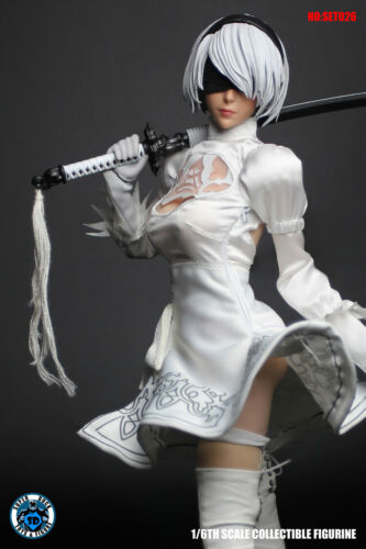 SUPER DUCK 1//6 SET026 Cosplay Mannequin Clothes w// Head Sculpt F PH Female Body