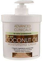 Coconut Oil Moisturising Cream Lotion For Face Hand Body Skin Restore Salon 16oz