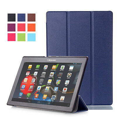 "Folio Leather Case Magnetic Cover For Lenovo TAB 3 10 Plus TB-X103F 10.1"" Tablet"