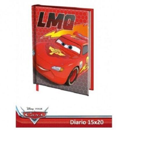 DIARIO SCUOLA CARS DISNEY PIXAR 10 MESI AGENDA SCOLASTICA 20X15 CM-COLORE ROSSO