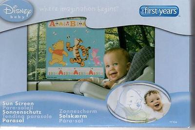 Disney Winnie the Pooh & Friends Child Baby Car Sunscreen Window Shade