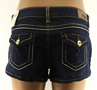 Ymi Jean Shorts Juniors Flap Pocket Denim