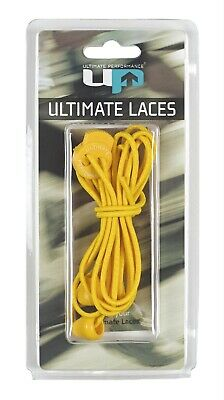 100 X Up6730 Ultimate Performance Elastic Laces - Yellow - Bulk Joblot Rrp £750