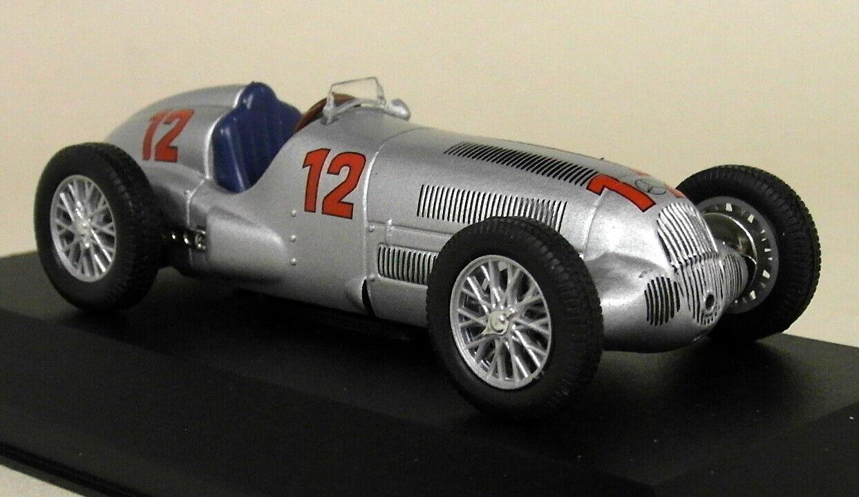 Altaya 1 1 1 43 Scale Mercedes Benz W125 racing car 1937 Diecast model Car 374de5