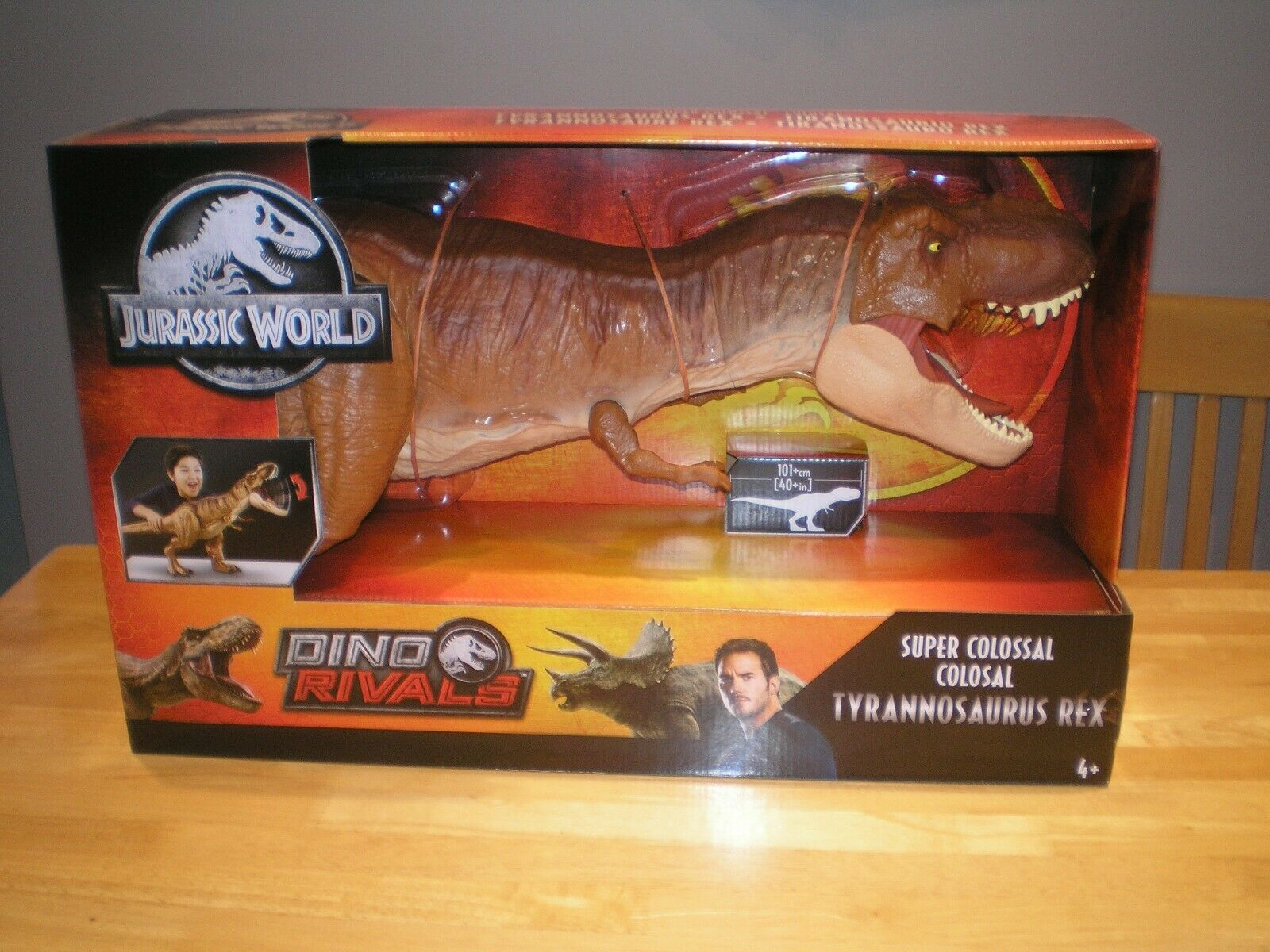 NUOVO JURASSIC WORLD Super colossale TREX