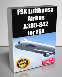 Details about FSX Lufthansa Airbus A380-842 Plane model for FSX - Digital  Download