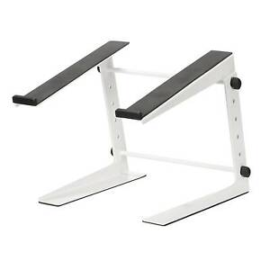 DJ-Laptop-Stand-White-Adjustable-Laptop-Mixer-Stand-FREE-Express-Delivery