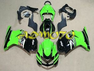 Fairing-Panel-Kit-for-Kawasaki-Ninja-250-250R-EX250-2008-2012-Green-Black