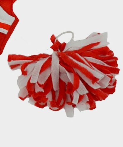 """TEDDY BEAR RED /& WHITE Cheerleader CLOTHES Fit 8/""""-10/"""" Build-a-bear !!NEW!!"""