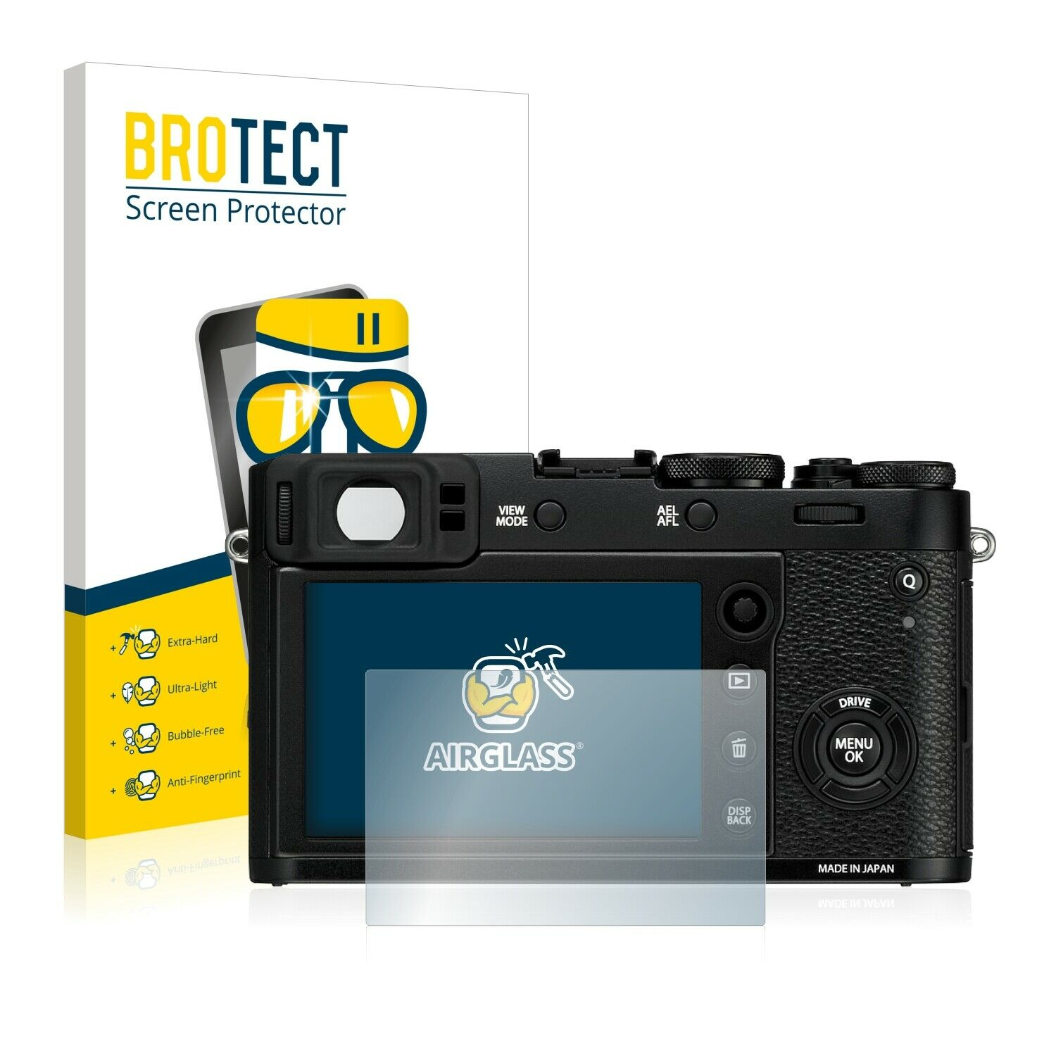Tempered Glass Screen Protector for Fujifilm X100F Film Protection