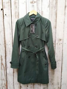 10 Maat bij trenchcoat Covent Was groen klassieke verkopen in Garden Asos 4Wq1H