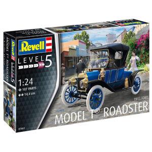 Revell 1913 Ford Model T Roadster Modele De Voiture Kit Echelle 1 24 07661 Ebay