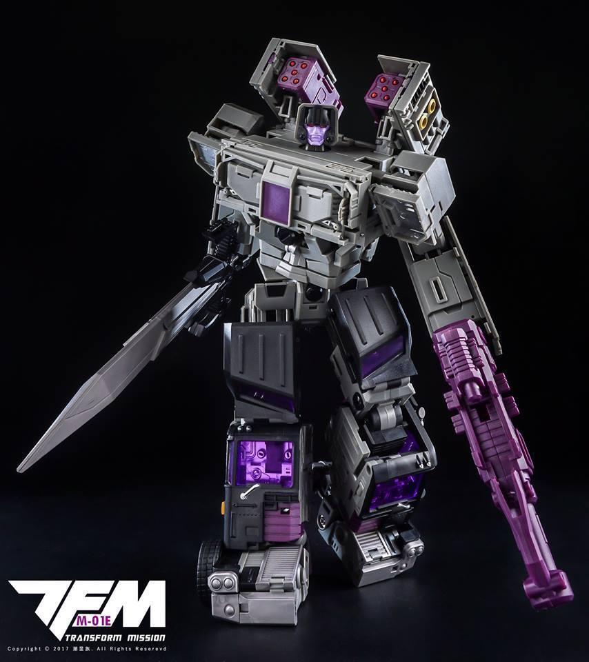 DHL Transformers TransFormMission TFM M-01E Powertrain  Motormaster  NEW