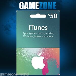 Carte Cadeau Apple.Itunes Gift Card 50 Usd Usa Apple Itunes Code 50 Dollars United