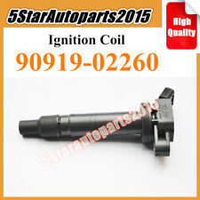 NEW IGNITION COILS SET OF 4 for Toyota Tacoma  90919-02237 C130 2.4L 2.7L L4