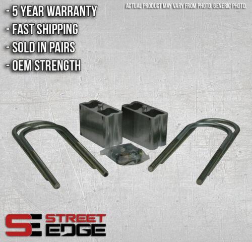 "Street Edge 1/"" Extruded Aluminum Lowering Blocks for 86-94 Mazda B2600//B2200"