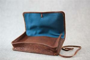 REDUCED-Handmade-Buffalo-Leather-Tobacco-Pouch-TP-C-Wallet-50g-string-Billy-Go