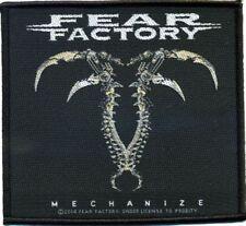"Fear Factory "" Mechanize "" Patch/Aufnäher 602455 #"