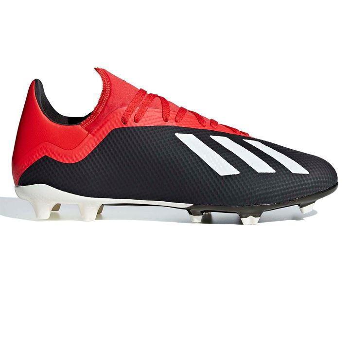 Adidas X 18.3 Mens FG Football Boots US 10.5  3 REF 4388