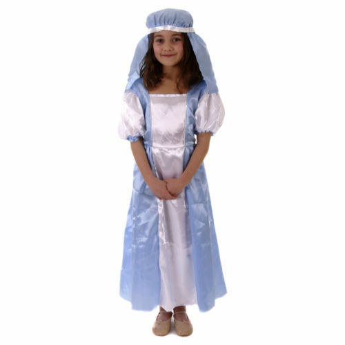 BAMBINO Mary Costume-Natale Fancy Dress-Medium Large