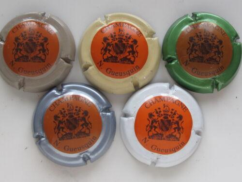 Série de 5 capsules Champagne GUEUSQUIN N.