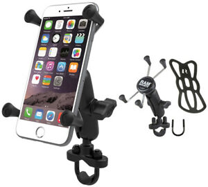 timeless design 21a28 29e56 Details about RAM X-Grip Motorcycle Bike Handlebar Mount for iPhone 7 PLUS  6S PLUS 6 PLUS
