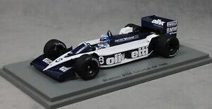 Grand prix canadien Spark Brabham Bt55 1986 Derek Warwick S4351 1/43 Nouvelle résine 9580006943514