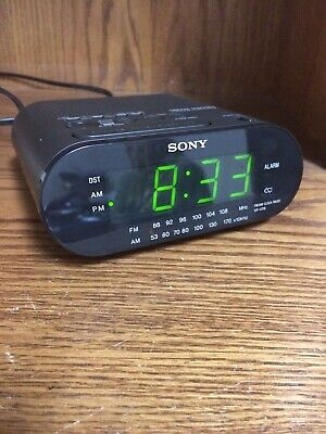 Sony ICF-C218 Dream Machine Alarm Clock Radio (Black) | eBay