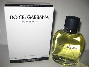 Details about Dolce & Gabbana Pour Homme 4.2 oz 125 ML Eau De Toilette For Men TSTR (New)