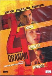 DVD-Video-21-Gramos-con-Sean-Penn-Benicio-de-Toro-Naomi-Watts-Nuevo-2004