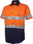 HI-VIS-SHIRT-SAFETY-COTTON-DRILL-WORK-WEAR-SHORT-SLEEVE-Air-Vents-UPF-50 thumbnail 25